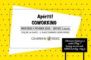 Invitation apéro coworking 4 février 2015