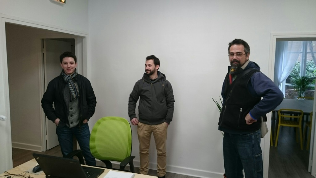 Sylvain, développeur Web, habitué de l'espace de coworking Nantais La chapelle