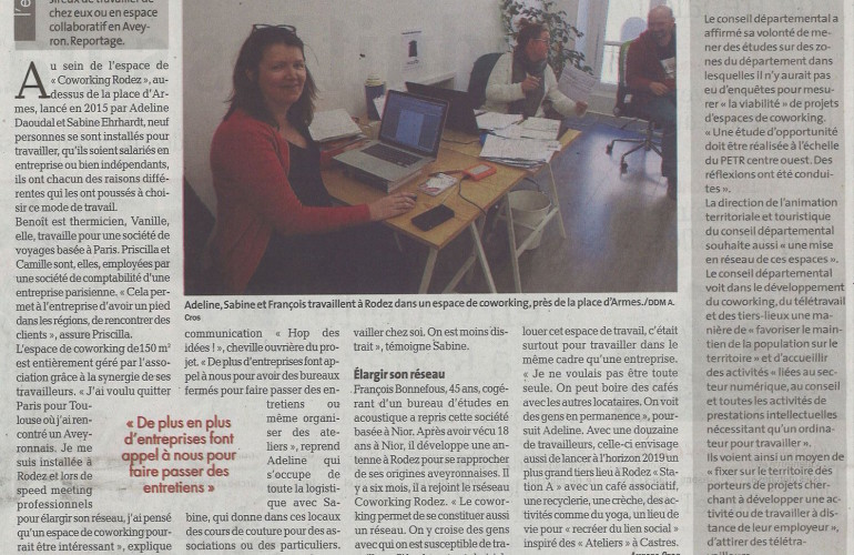 Coworking-Rodez-dans-la-Dépêche-17avril2018